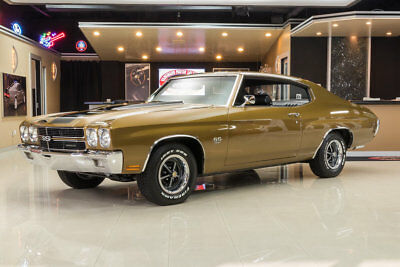 1970 Chevrolet Chevelle  Rotisserie Restored! GM 396ci V8, Muncie 4-Speed, PS, PB, Posi, Autumn Gold!