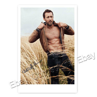 Alex O'Loughlin - Hawaii Five-0 / Steve & Moonlight / Mick - Autogrammfoto [#19]