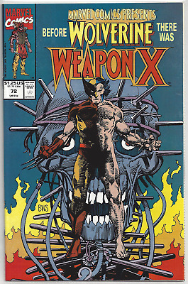 Marvel Comics Presents #72 ~ 1st Weapn X Story!! NM or Better!! Wolverine