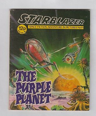 STARBLAZER No. 11  =  THE PURPLE PLANET  =  {D. C. THOMSON 1979}  =