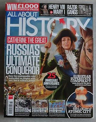 ALL ABOUT HISTORY MAGAZINE No.60 JANUARY 2018 EXCELLENT CONDITION L@@K!