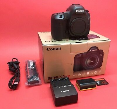 Canon Eos 5Ds R 5Dsr 50.6 Mp Digital Slr Camera Usa Model +64Gb +Low Pass Filter