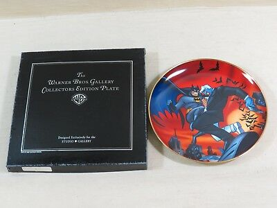 "Warner Bros Adventures of Batman and Robin Collector Plate,10"",Two-Face,/2500"