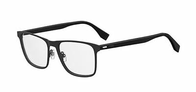 589fb940133 AUTHENTIC FENDI MEN Ff M 0010 0003 Matte Black Eyeglasses -  244.99 ...
