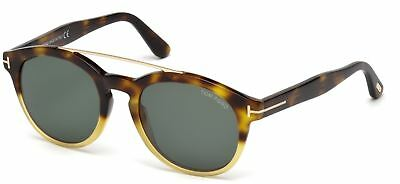 TOM FORD NEWMAN Sunglasses Olive Hanana Torte Roviex Brown Gradient ... 214007f84a41