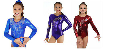 NEW! Gymnastics Competition Leotards by Snowflake Designs - $74.95 to 79.95