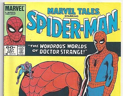 The AMAZING SPIDER-MAN Annual #2 Reprint in Marvel Tales #167 from Sept. 1984