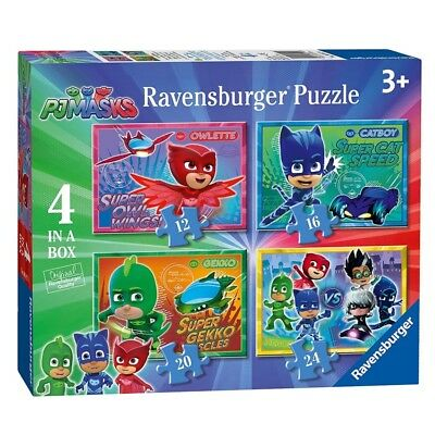 4 in 1 Kinder Puzzle Box | Ravensburger | Pyjamahelden  | PJ Masks