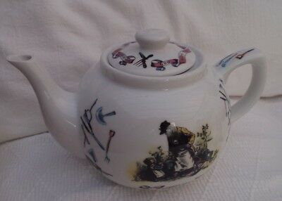 "Paul Cardew ""God Bless The Gardener"" Pottery  Teapot"