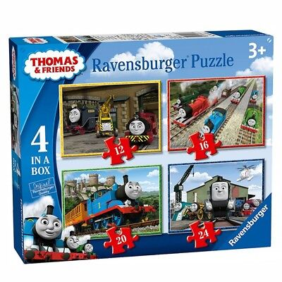 4 in 1 Kinder Puzzle Box | Ravensburger | Thomas & seine Freunde