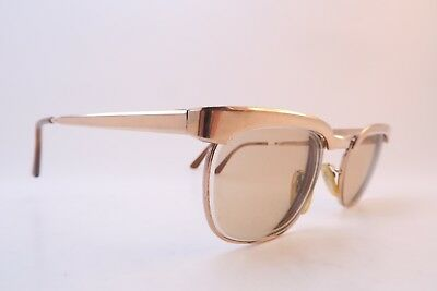 Vintage 50s gold filled eyeglasses frames NIGURA OCTAVIO 46-20 140 Germany