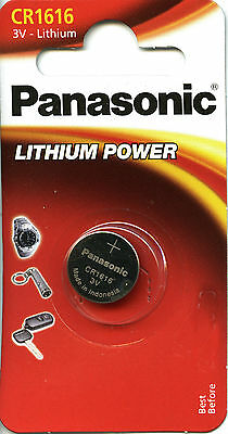 Batterie Pile Panasonic CR1616 3 Volts. Lithium Neuf
