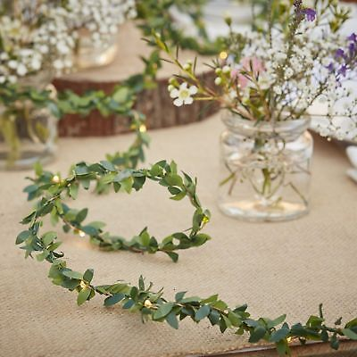 Foliage Fairy Lights - 2 Meters  Rustic Country Wedding Decoration