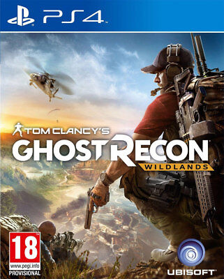 Tom Clancy's Ghost Recon: Wildlands (PS4) NEW AND SEALED IMPORT - QUICK DISPATCH