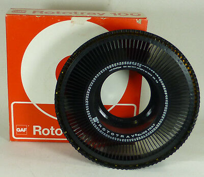 GAF Rototray 100, 35mm Slide projection Carousel - Boxed