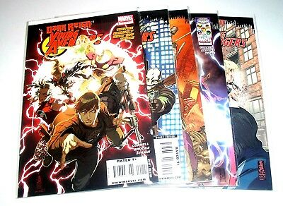 YOUNG AVENGERS - #1 #2 #3 #4 AND #5 - DARK REIGN COMPLETE ARC Free Shipping