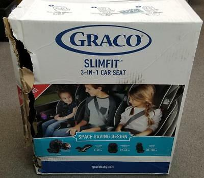 GRACO Slimfit Anabele 3-in-1 Carseat Model# 1999656 DOM: 10-8-2017
