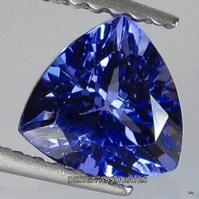 Tanzanite  Trillion Cut  Natural Gemstone 5.50 Mm Aaa