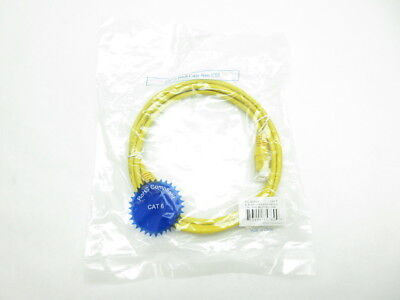 New Lex Tec PC6005Y 5ft Yellow Rj45 Cat 6 Patch Cable
