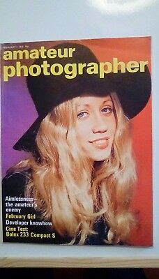 Amateur Photographer Dated 7 February 1973. Superb Condition.