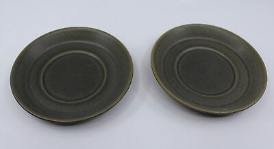 Wedgwood Greenwood Saucers Only Set of 2 Vintage Made in England Replacement
