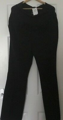 Maternity Next Navy Over Bump Smart Casual Trousers  Size Uk  18 L - New
