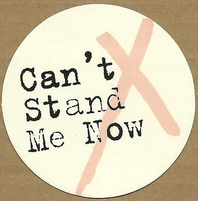 Rare Promotional Sticker     THE LIBERTINES     Can't Stand Me Now    NEW / MINT