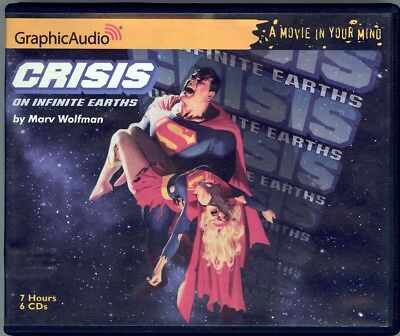 Crisis on Infinite Earths Audio Book 6 CD Set written by Marv Wolfman
