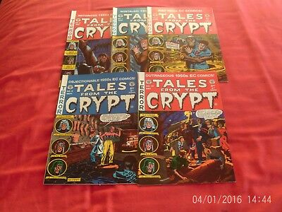 Tales From The Crypt Issues 6-10 comics