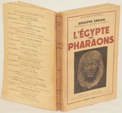 Adolphe Erman L'Egypte Des Pharaons Antico Egitto Ancient Egypt Medio Impero Ill