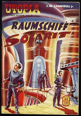 Utopia Zukunftsromane Nr.84 von 1954 - Z1-2 Science Fiction Pabel Romanheft