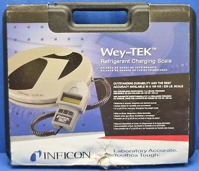 Inficon 713-202-G1 Wey-TEK Refrigerant Charging Scale