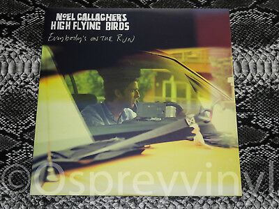 """Noel Gallagher High Flying Birds - Everybody's On The Run 12"""" Oasis NEW"""