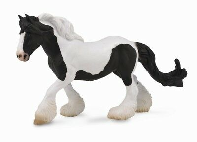 Breyer CollectA 88779 Gypsy mare black/white exceptional well made miniatures<><