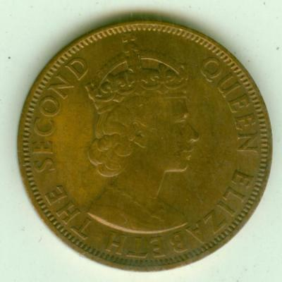 Seychelles 1967 5 Cents-Lot Z2