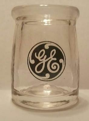 Very Nice General Electric Advertising 3/4 oz Glass Dairy Creamer