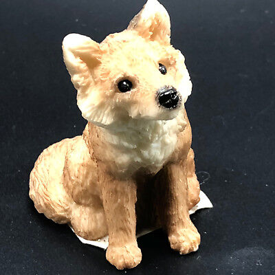 STONE CRITTERS FIGURINE ANIMAL COLLECTION sculpture littles coyote fox wolf dog