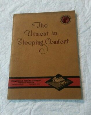 1923 Minneapolis Bedding Company Catalog 88 Pages Minneapolis, Minnesota