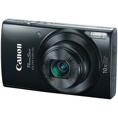 Canon CND1084C001 PowerShot 20.0 MP ELPH 190 IS Camera - Black