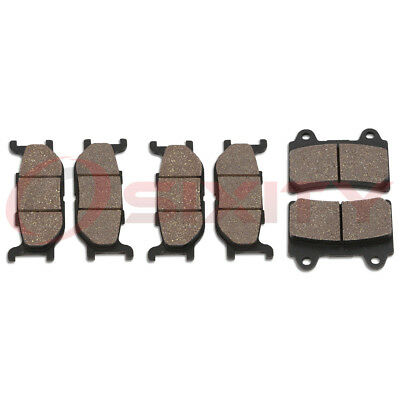 Front + Rear Ceramic Brake Pads 1999-2003 Yamaha XV1600A Road Star Set Full es