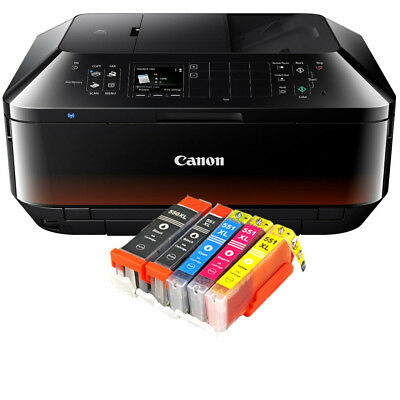 Canon PIXMA MX725 Multifunktionsgerät All-In-One Kopierer Wlan Drucker Duplex