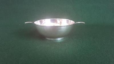 Rare Antique Circa 1900 Chinese Export (?) Sterling Silver Porringer