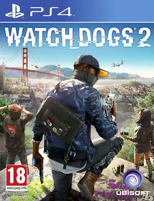 Watch Dogs 2 (PS4)  BRAND NEW AND SEALED - IN STOCK - QUICK DISPATCH - IMPORT