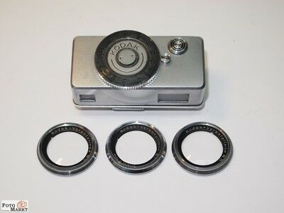 Kodak Close Setting Device Mit 3 Close-Up Lenses vorsatzline 1,2 and 3 22mm)