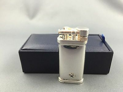 Sillem's IM Corona Sterling Silber Old Boy pipe pipa lighter