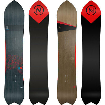 Nidecker Mellow Freeride Snowboard Men's Fish Swallowtail 2018 NEW