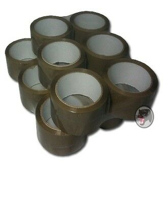 Packing Tape Brown 6 Roll 50mmx66m Packing Tape