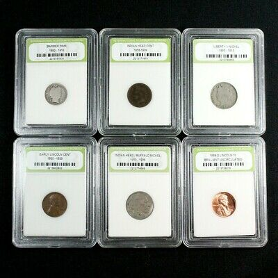 Antique Coins Estate Sale - Free U.S. Proof Quarter with Every 5 Coins Purchased