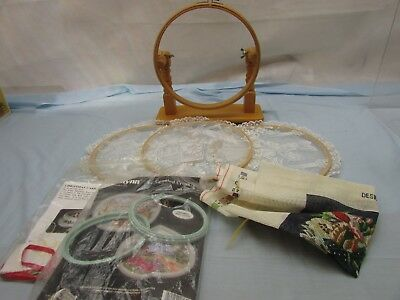 Job Lot Tapestry Frames + Cross Stitch Pattern ## Keg 55 Sd