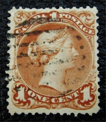 nystamps Canada Stamp # 22 Used UN$180 VF